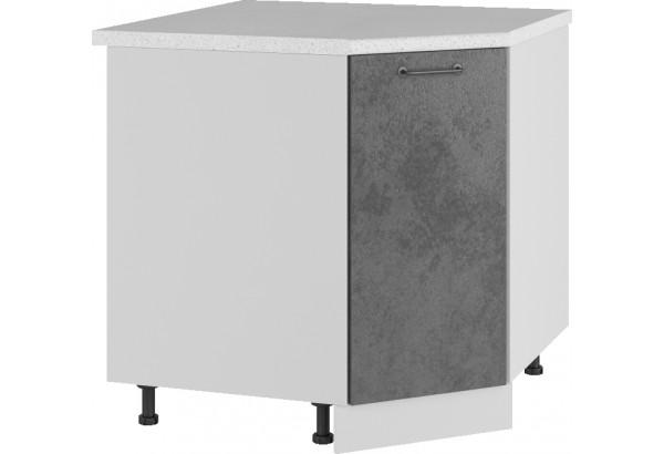 Лофт Напольный шкаф Угловой 850 мм с дверцей - фото 1