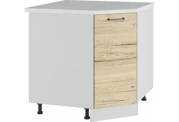 Лофт Напольный шкаф Угловой 850 мм с дверцей - фото 2