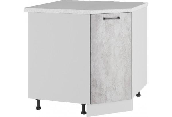 Лофт Напольный шкаф Угловой 850 мм с дверцей - фото 3