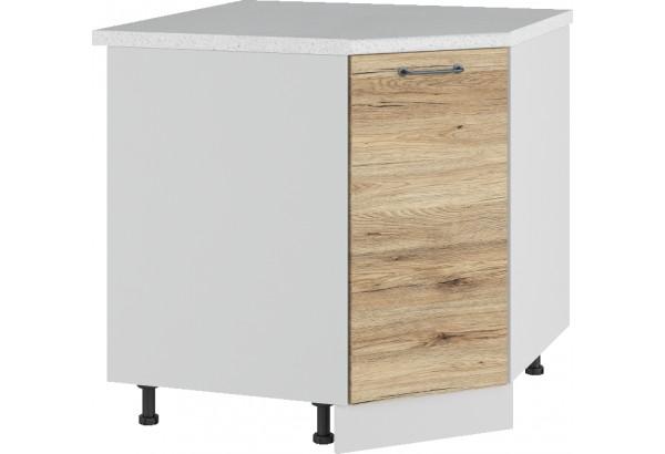 Лофт Напольный шкаф Угловой 850 мм с дверцей - фото 4